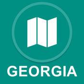 美国佐治亚州 : 离线GPS导航 1