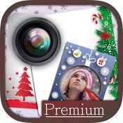 圣诞节老人贴纸相框相机纪念日贺卡片祝福语短信息 – 高级