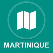 马提尼克岛,法国 : 离线GPS导航 1