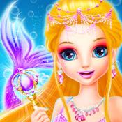 美人鱼时尚化妆- 婚礼Mermaid 1