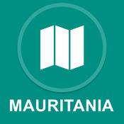 毛里塔尼亚 : 离线GPS导航 1