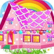 漂亮圣诞屋-女生设计搭配小房间游戏 1