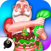 圣诞蛋糕厨师 - 烘焙装饰 1