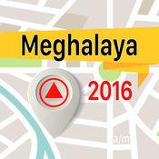 梅加拉亚邦 离线地图导航和指南 1