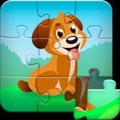 儿童动物拼图 - 我的第一个益智拼图游戏学习动物,鸟类,水果