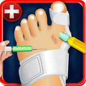 孩子足踝外科模拟器2015 - 外科手术医生及身体X光游戏 1
