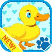 動物拼圖卡游戏为孩子 1