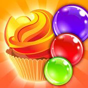 松饼蛋糕泡泡射击 - 跳跳焦糖任务 1