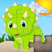 有趣的拼图恐龙的孩子 1.8