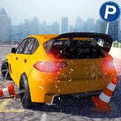 多层雪车停车场疯狂3D模拟器 - Multi-Storey Car Parking