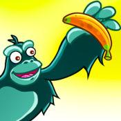 疯狂的猴子的战斗 - 情人节版纯爱 - 比赛进入丛林收集香蕉