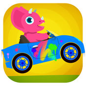 恐龙汽车 - 儿童赛车, 卡丁车游戏总动员 1.0.3