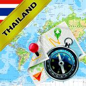 泰国 - 离线地图和GPS导航仪 1.8