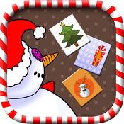 创建圣诞祝福 - 设计圣诞卡片祝圣诞快乐,新年快乐 1