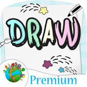 画画草图 - 为学龄前儿童 - 高级 1.2