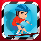 Awesome Skateboard Run - 真棒滑板运行 1