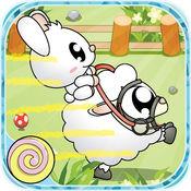 麻糬球羊: PiPi兔跑羊大赛(草地竞羊) 1.9.22