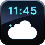 天气时钟 -- 简约而美丽的多功能闹钟 1