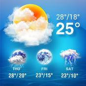 天气小部件-通知栏插件中心的天气预报