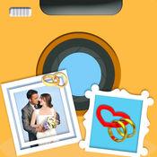 婚礼相框 - 周年纪念照片编辑