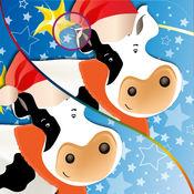 圣诞动物找不同:...