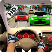 比赛在汽车3D亲