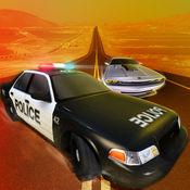 赛车游戏:警察赛车 1