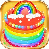 制作彩虹蛋糕 -  好玩的生日蛋糕做饭游戏 1