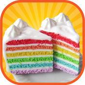 彩虹蛋糕制造者 - 一个疯狂的厨房塔蛋糕制作,烘烤和装饰游