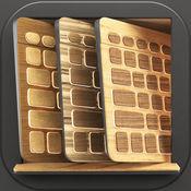 木质键盘 – 自定义键终极木背景外观和字体 1