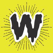 Wordoji Pro = 你的话 + 我贴纸! (一个快速的键盘贴纸!) 2