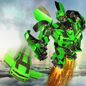極速飛行機器人車變形模擬器 1