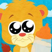 狮子养成记卡通拼图游戏 1