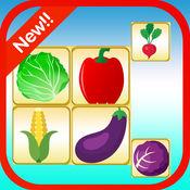 匹配游戏水果和蔬菜为孩子 1