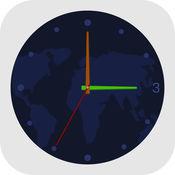 世界时钟-两地时...