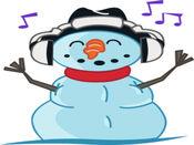 Snowman贴纸,设计:Jo 3.0.1