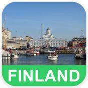 芬兰 离线地图 - PLACE STARS v1.1