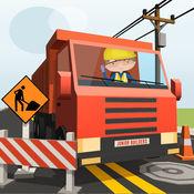 Junior Builders - 卡车和建筑车辆的儿童 1.6