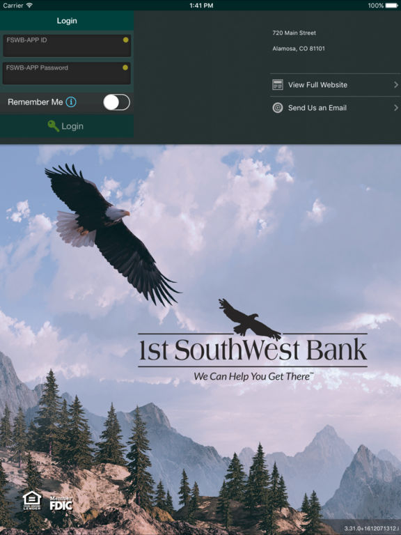 First Southwest Bank Mobile Banking