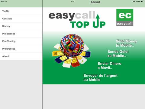 EasyCall TopUp