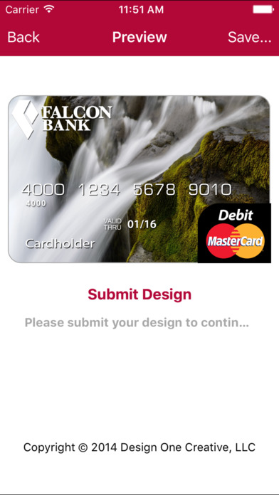 Falcon International Bank My Photo Card