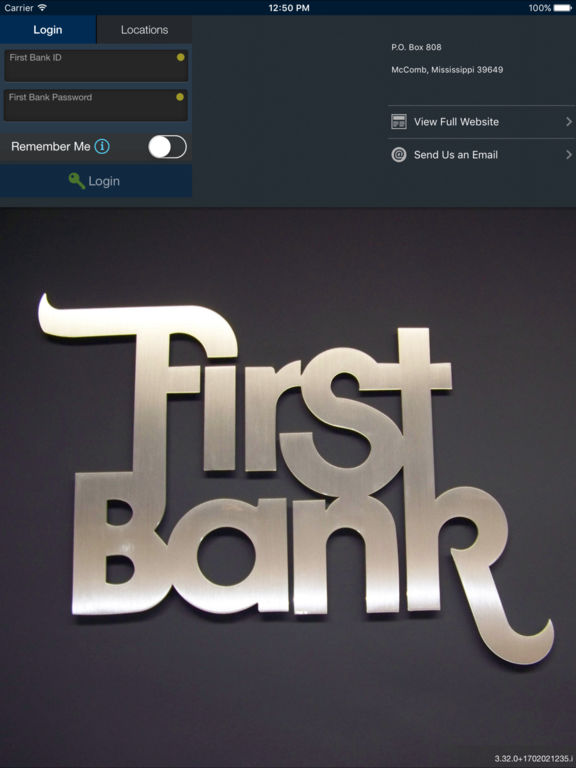 First Bank (MS) On the Go