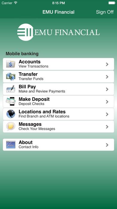 EMUF Mobile Banking