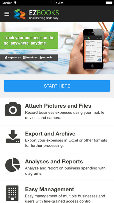 EZBooks - Mobile Bookkeeping