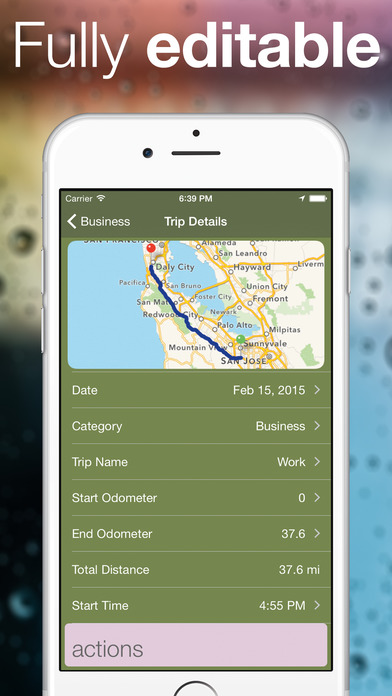 Easy GPS Mileage - Automatic Mileage Deduction Log