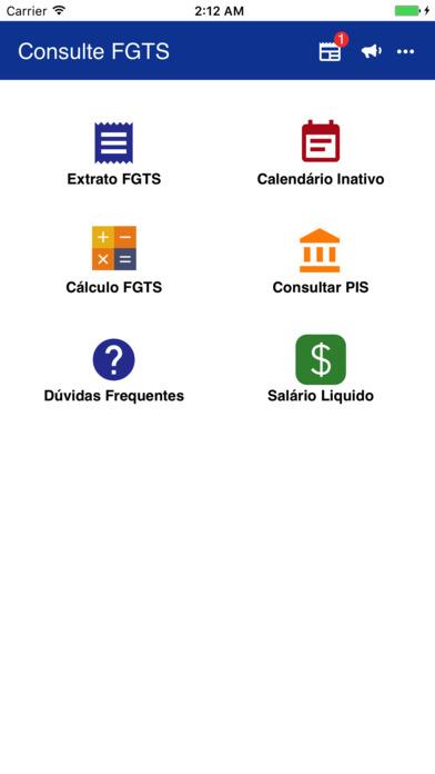 FGTS e PIS - Consulte Saldo