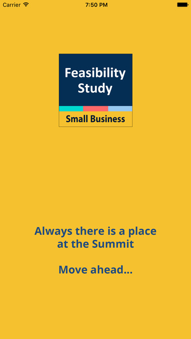 Feasibility Study Small Business