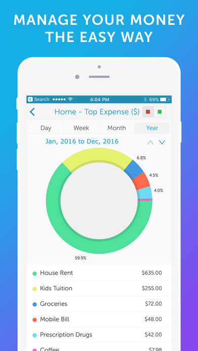 Easy Spending - Money Tracker & Budget Planner