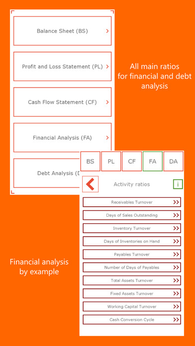Financial analysis with examples limited