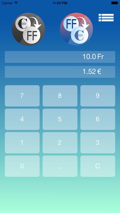Euro Franc Convertisseur